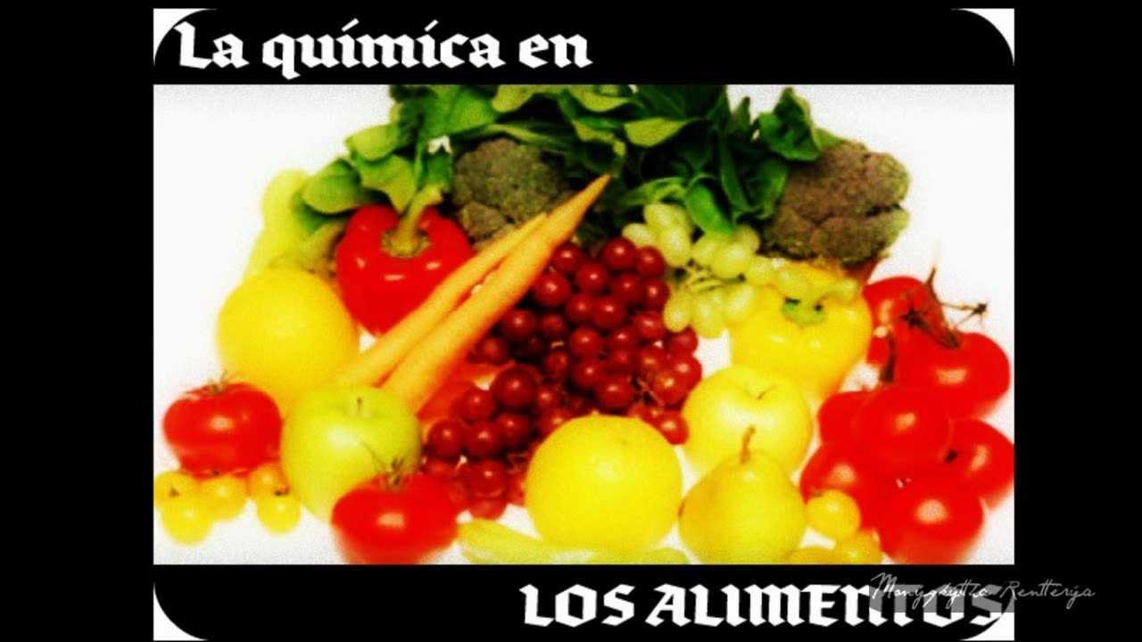 La qu mica en los alimentos youtube for La quimica en la gastronomia