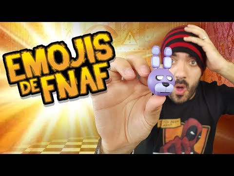 ABRIENDO EMOJIS SORPRESA OFICIALES DE FIVE NIGHTS AT FREDDY'S ⭐️(FNAF Toys Unboxing) | iTownGamePlay