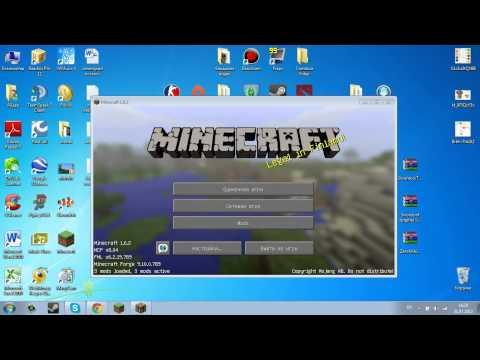 Как Установить моды на Minecraft 1.6.2 (zan`s minimap и Inventory Tweaks (Как у лололошки)