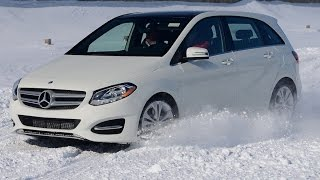 2015 Mercedes B 250 4Matic Review(Mercedes Benz updates the B-Class hatchback with its 4Matic AWD system. This practical entry-level Mercedes is the least expensive Benz you can buy., 2015-02-07T23:03:50.000Z)