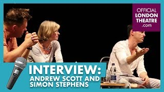 Andrew Scott and Simon Stephens Live Q&A at The Old Vic for Sea Wall