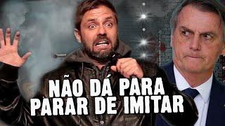 Fábio Rabin - Não consigo parar de fazer piada com Bolsonaro...