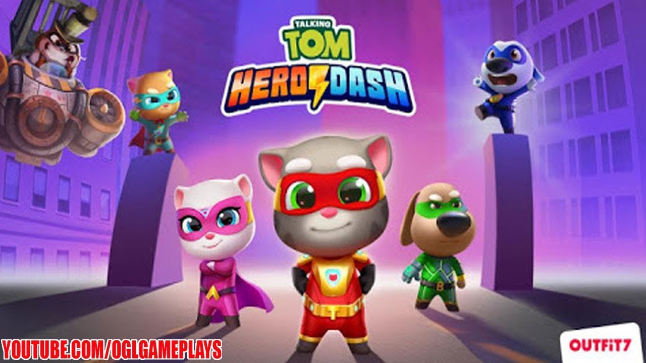 Talking Tom Hero Dash Gameplay (Android IOS APK)  #Smartphone #Android