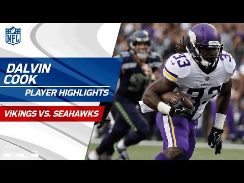 Every Dalvin Cook Play Against Seattle | Vikings vs. Seahawks | Preseason Wk 2 Player Highlights