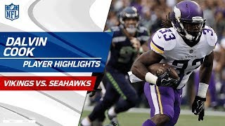 Video Every Dalvin Cook Play Against Seattle | Vikings vs. Seahawks | Preseason Wk 2 Player Highlights download MP3, 3GP, MP4, WEBM, AVI, FLV Agustus 2017