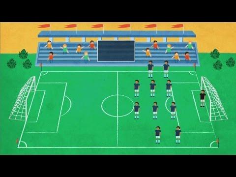 97665be22ad6f Las reglas del fútbol - YouTube