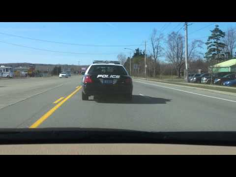 Hamburg Police officer caught on cell phone and speeding