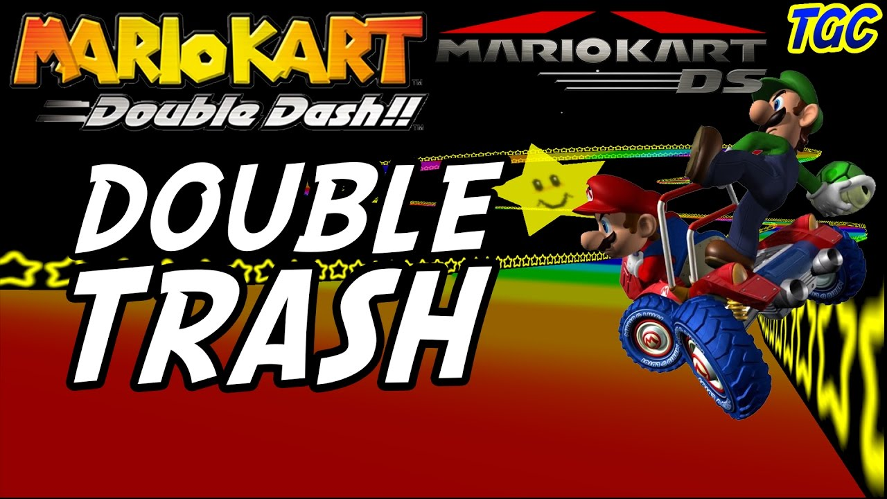 Mario Kart Retrospective 2 Double Trash Double Dash Ds Geek Critique