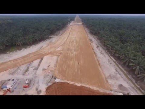 1. Proyek Tol Medan - Kualanamu - Tebing Tinggi Seksi 4B