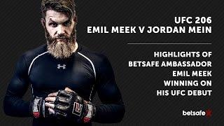 UFC 206: Emil Meek v Jordan Mein - Toronto highlights