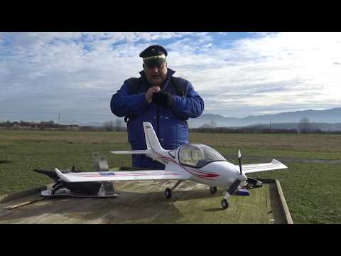 """H-King TL2000 EPO RC Plane 1160mm (45.7"""") (PnF) w/Floats Maiden flight"""