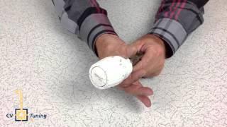 Danfoss thermostaatkraan met knelfitting / CV Tuning