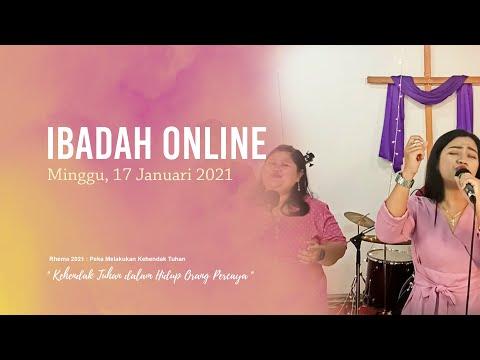 Ibadah Online Minggu, 17 Januari 2021