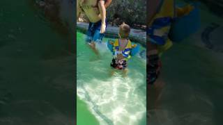 Ezra and Henry swim 2