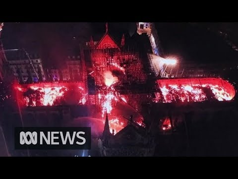 Notre Dame fire: France will rebuild historic cathedral, says President Macron   ABC News