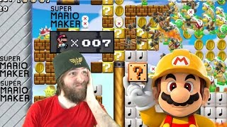 IT'S DOWN TO THE WIRE | Super Expert No Skip [#06] - Super Mario Maker