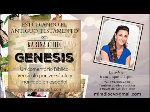 Radio C4 - Estudiando el Antiguo Testamento - Génesis Programa 12 - Karina Guidi