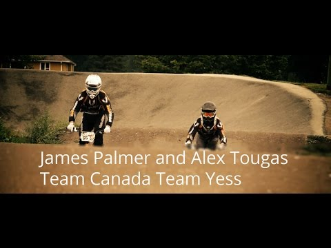 BMX Racing Interviews James Palmer and Alex Tougas Team Canada Team Yess