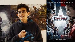 REVIEW - Captain America : Civil War