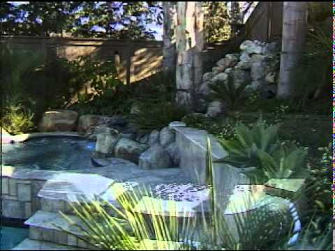 Concrete waterfall ponds construction design build a for Concrete fish pond construction and design