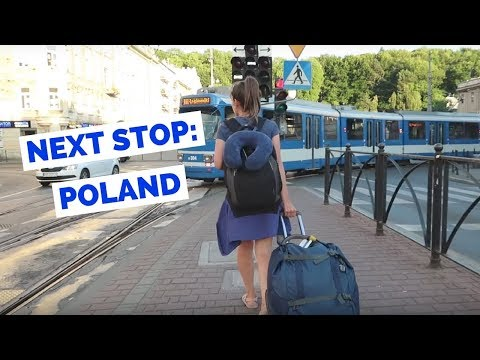 Europe Bus Travel from Budapest, Hungary to Krakow, Poland