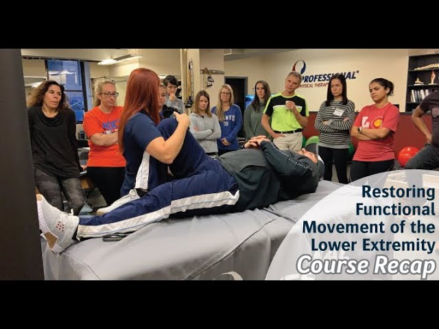 [Course Recap] Restoring Functional Movement of the Lower Extremity 2019