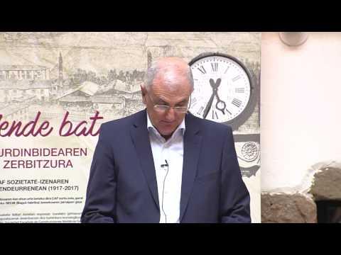 CAF, mende bat burdinbidearen zerbitzura/ CAF, un siglo al servicio del ferrocarril
