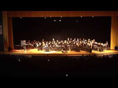 King George High School Wind Ensemble Perform Frozen Medley