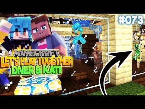 CREEPER & VILLAGER IN UNSEREM HAUS | Minecraft mit Kati & Dner #73