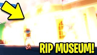 I BURNED the MUSEUM to the GROUND!! (Asimo3089 Don't Ban Me) | Roblox Jailbreak New Update