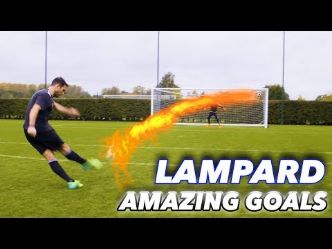 FRANK LAMPARD + THE F2 | EPIC SHOOTING SESSION! AMAZING GOALS!