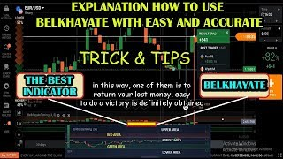 Tricks and How to Trading IQ Option Using Belkhayate  Indicators 2018 - Impossible If Money Is Lost
