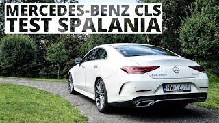 Mercedes-Benz Cls 400d 340 Km (At) - Pomiar Zużycia Paliwa