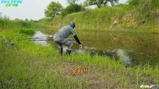 경남 이방 낙동강 붕어낚시