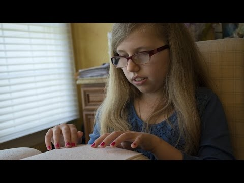 N.J. teenage girl competes in National Braille Challenge