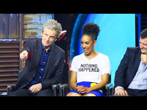 Peter Capaldi's New Sonic Screwdriver Red Setting!