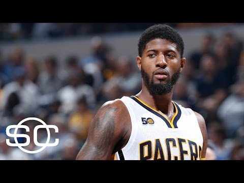 Should Lakers Trade No. 2 Pick For Paul George? | SportsCenter | ESPN