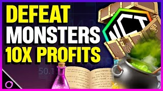 UNLEASH YOUR MONSTERS ON BLOCKCHAIN FOR GAINS
