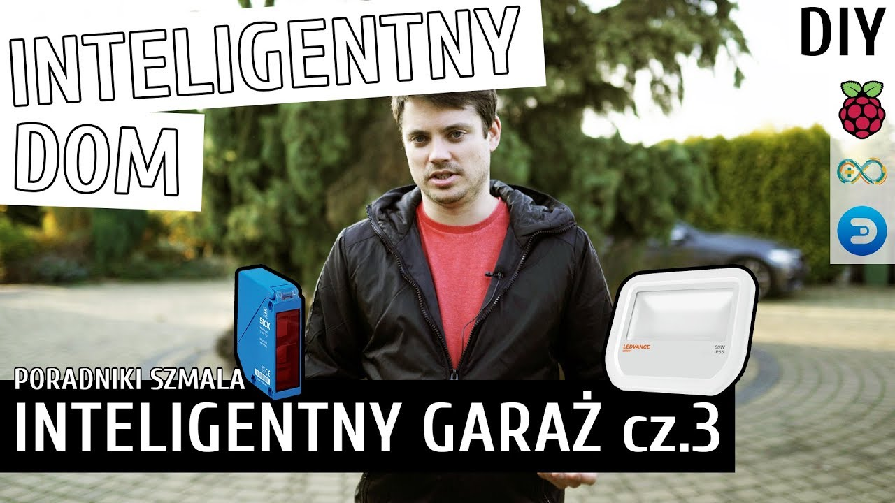 INTELIGENTNY GARAŻ cz.3 | Inteligentny Dom DIY #18