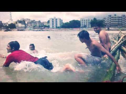 Swimming in river 12/07/2016