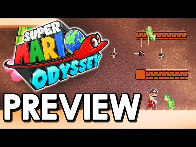 mario odyssey 2d sections