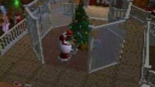 The Sims 2 Christmas pack trailer (made by me)