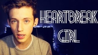 Repeat youtube video Heartbreak Girl - 5 Seconds Of Summer (Cover) - Troye Sivan