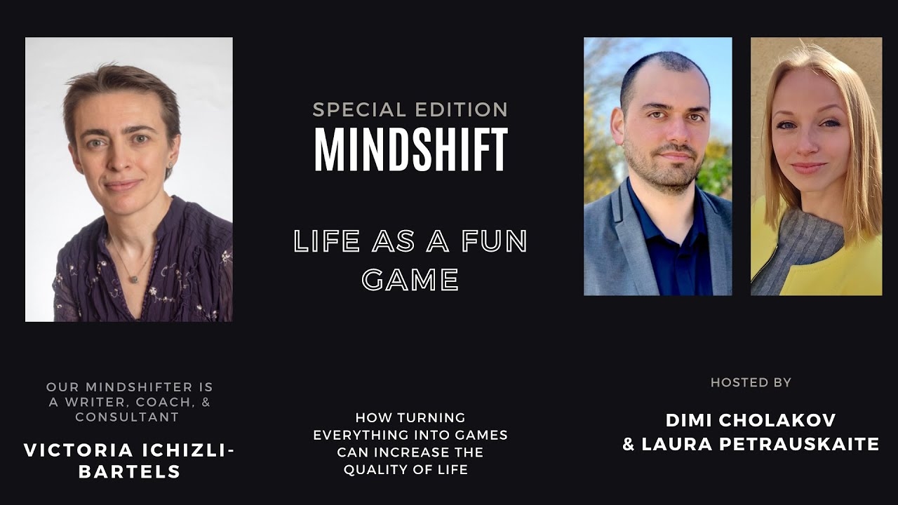 LIFE AS A FUN GAME with Victoria Ichizli-Bartels