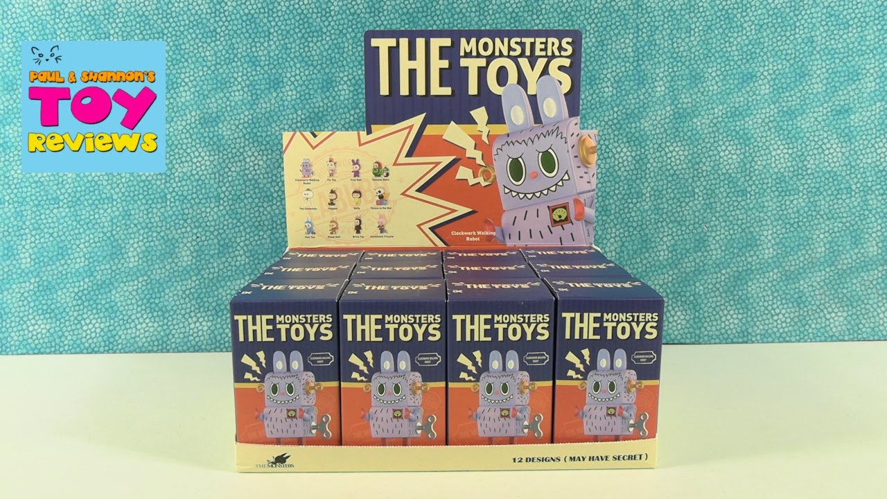 The Monsters Toys Pop Mart Blind Box Figure Opening Review | PSToyReviews