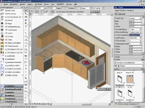 Küchenplaner software  3D-kueche-03 - YouTube