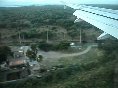 Landing in Ponce, Puerto Rico