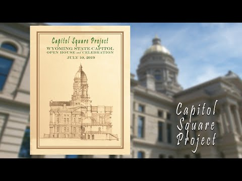 Wyoming State Capitol Open House And Celebration