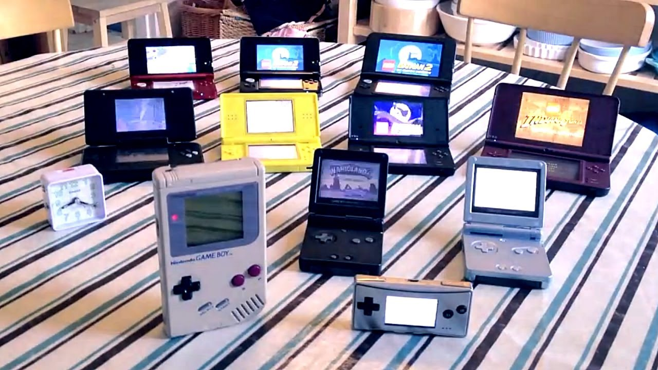 Nintendo game boy color youtube - 3ds Xl Real Time Battery Test With Other Nintendo Handhelds Fgtv 2 11 Youtube