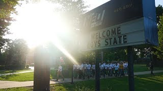 Patriotism and teamwork at Oklahoma Boys State